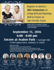 Aging Well Symposium