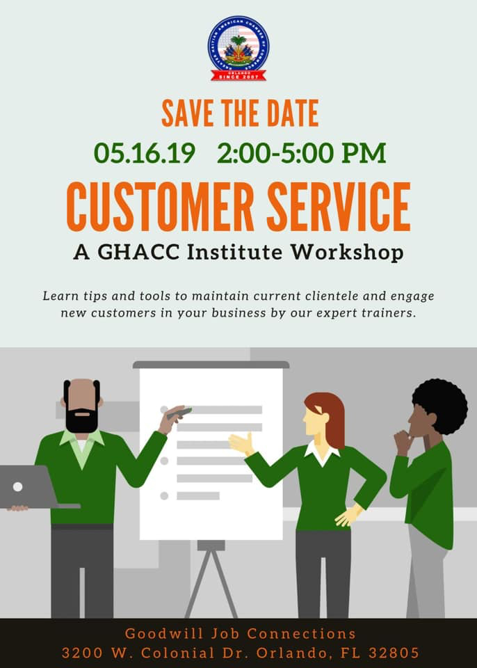 GHACC Institute - Customer Service