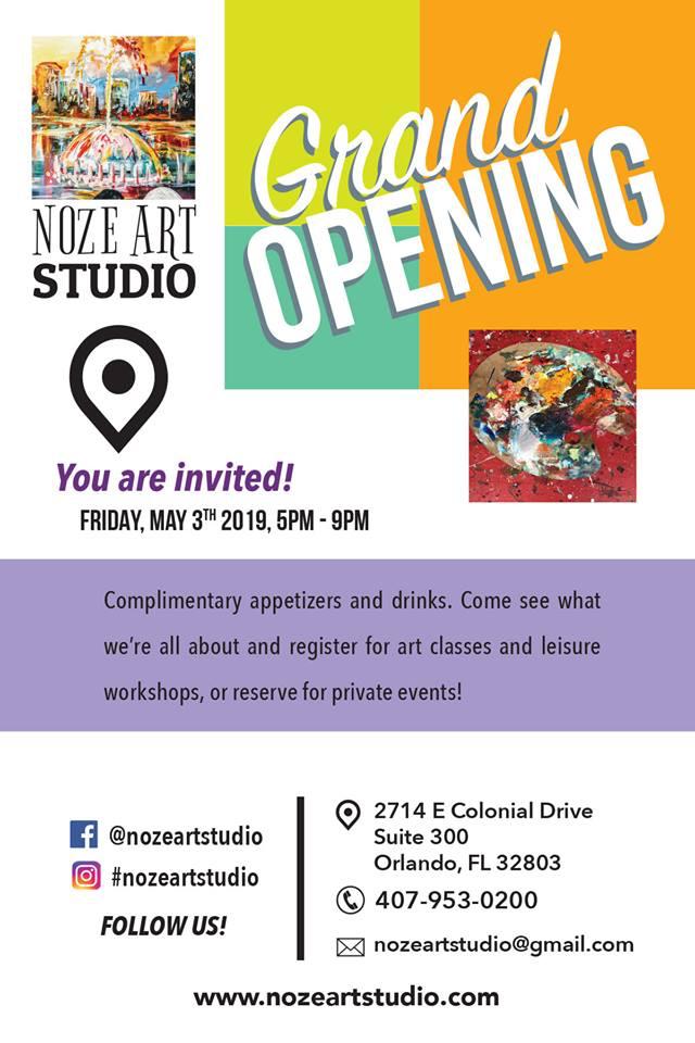 Noze Art Flyer