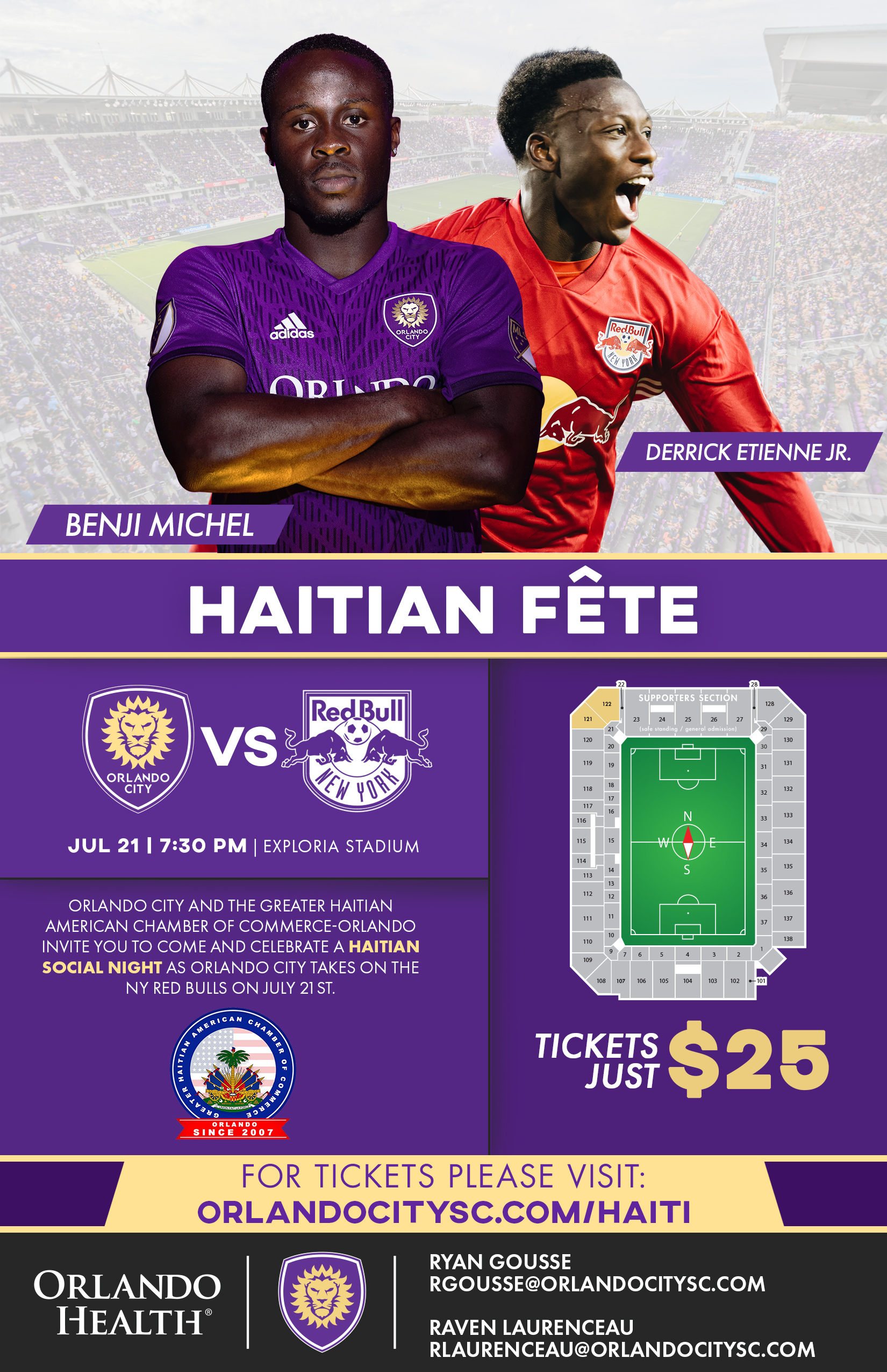Haitian Fete Flyer
