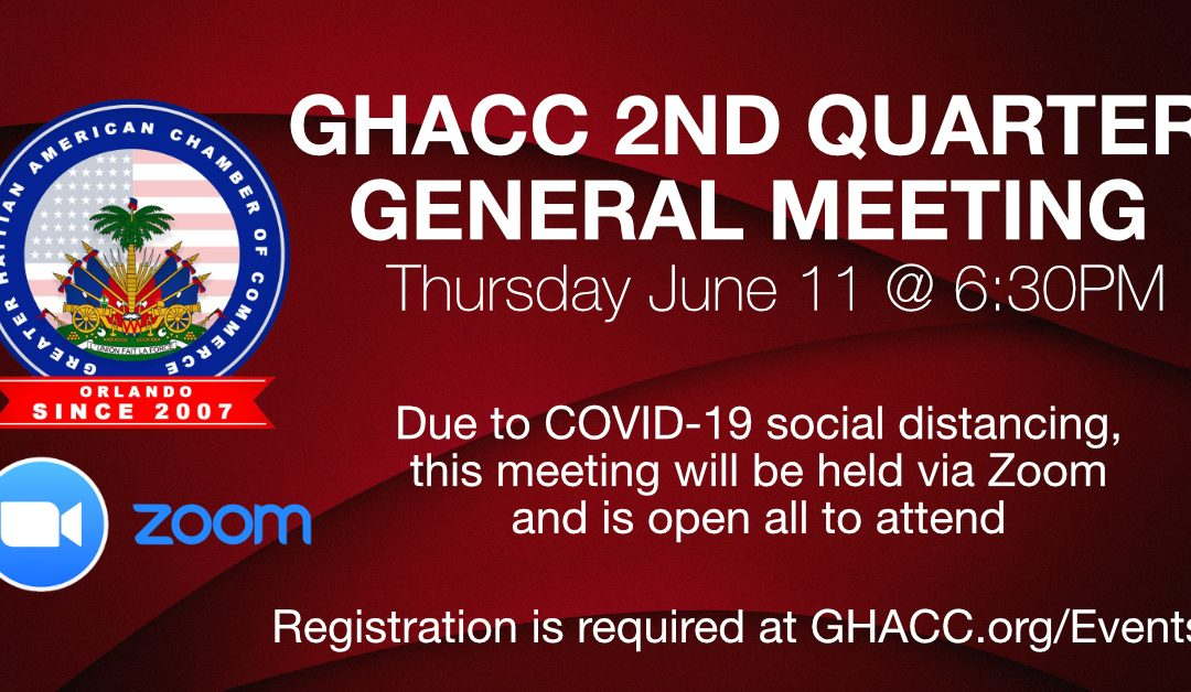 GHACC General Meeting