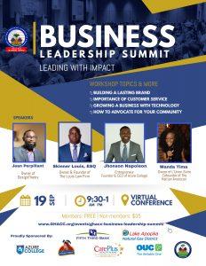 GHACC Leadership Summit Flyer