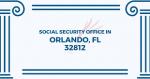 Social Security Office in Orlando