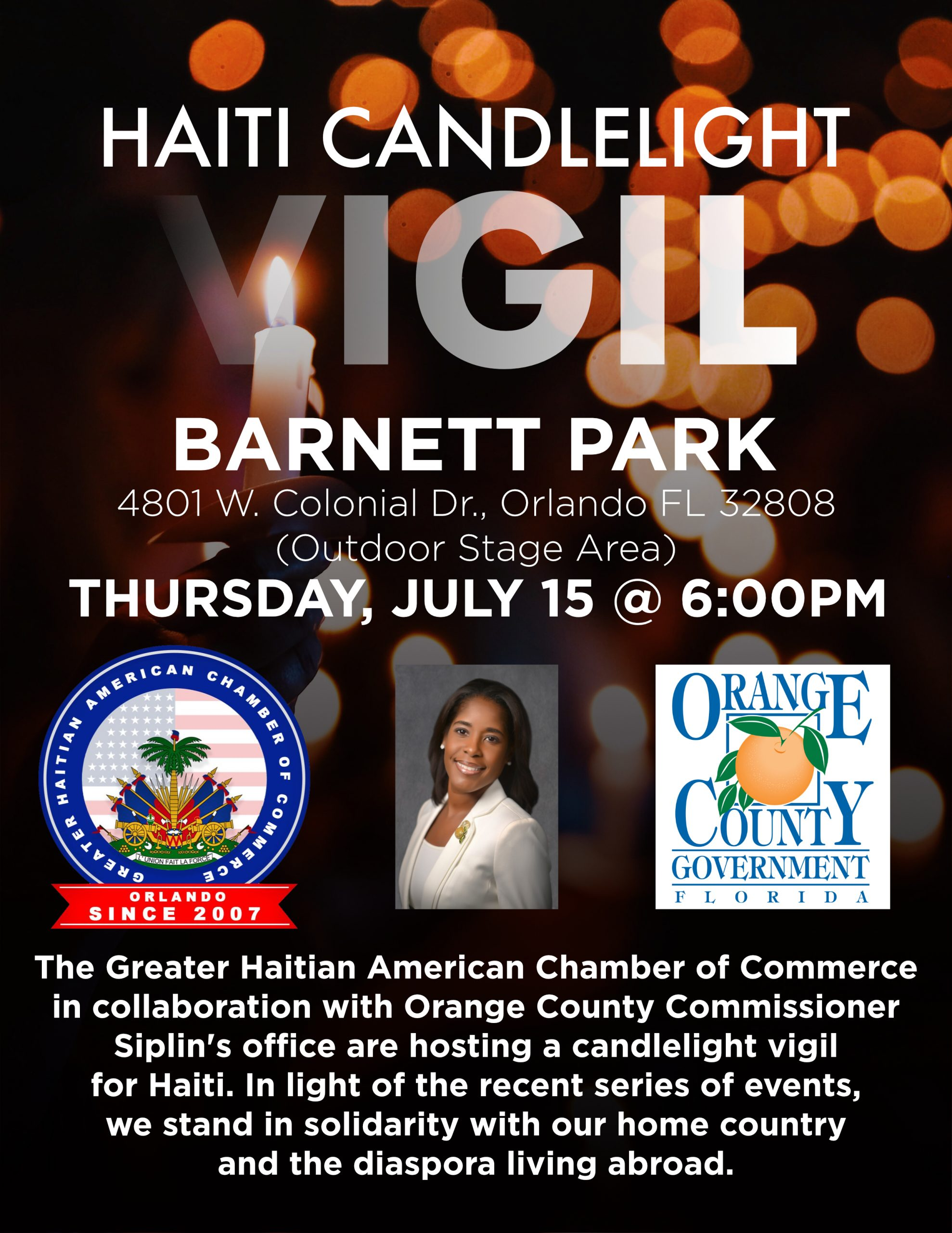 Hait Candlelight Vigil