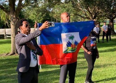 Haiti Candlelight Vigil